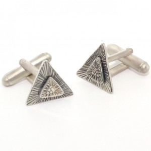 Layered Deco Cufflinks